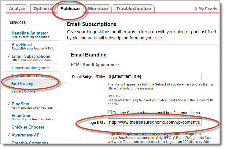 Optimizing Your Feedburner Email in 10 minutes