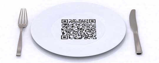 Restaurant QR code. Creative or Silly?